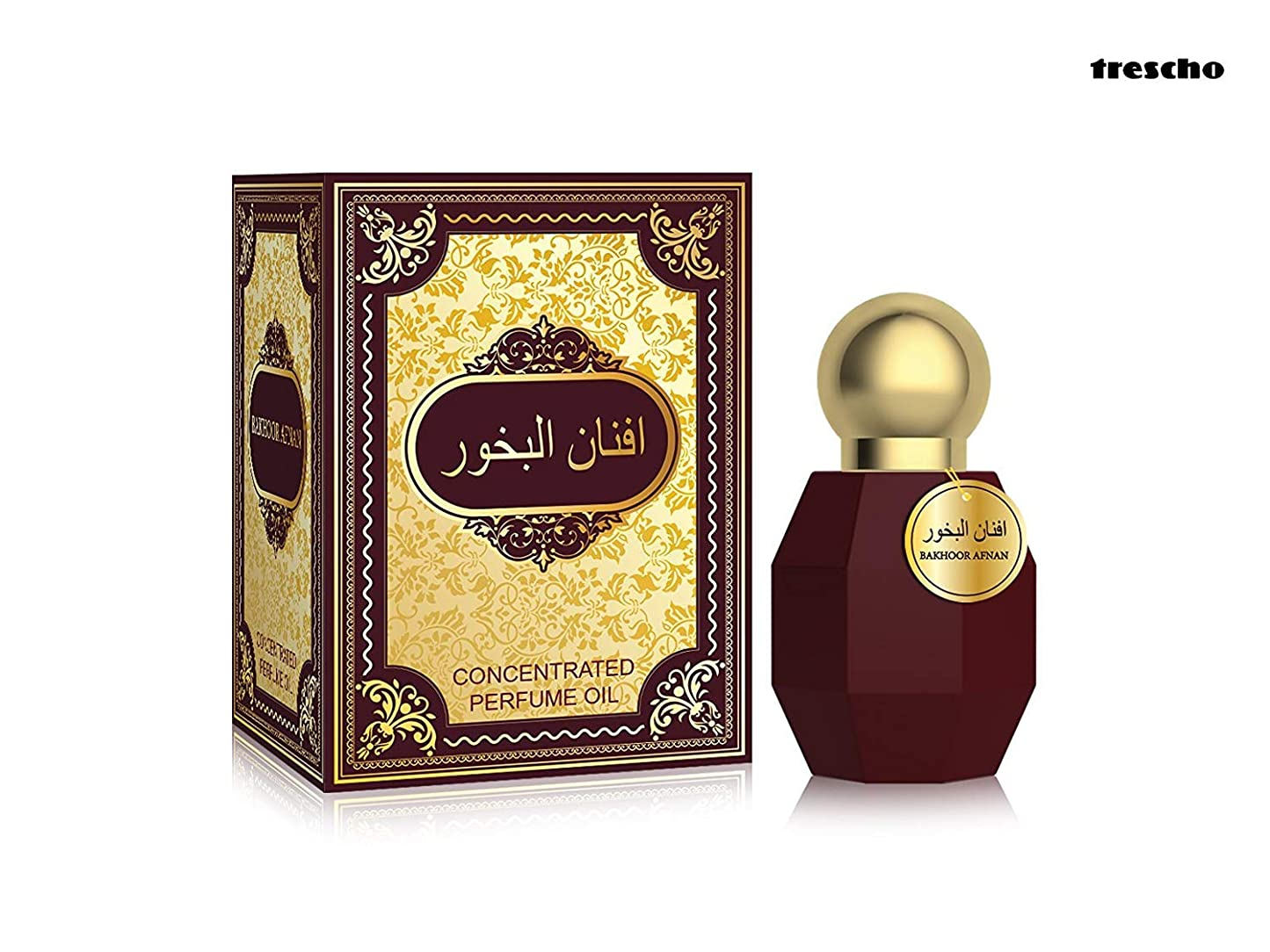 考古学的な城作り香水Bakhoor Afnanアター(Ittar)で20ミリリットルロール|アターITRA最高品質の香水長持ちアタースプレー