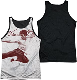 Bruce Lee Expectations Adult Tank Top