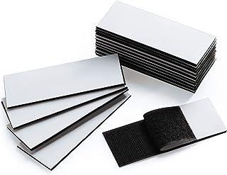 Lndustrial Strength Hook Loop Strips Self Adhesive Fastener Double Sided Adhesive Sticky, Interlocking Tape Mounting Tape ...