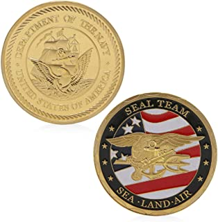 US Sea Land Air Seals Team Challenge Coins Collection Art Craft Collector`s Medallion, Jewelry Quality
