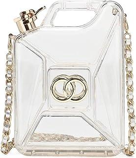 Hearty Trendy Fashion Gas Can Acrylic Evening Bag Clutch Bag Shoulder Bag