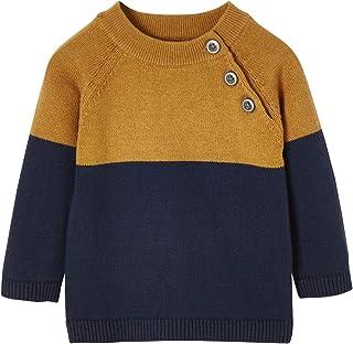 Vertbaudet Jersey para bebé con diseño de bloques de colores.