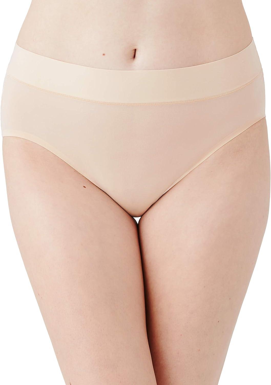 Wacoal Women's at Ease Hi Cut Brief Panty