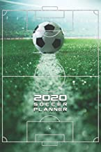 2020 Soccer Planner Monthly & Weekly Notebook Organizer: 6×9 inch (similar A5)..