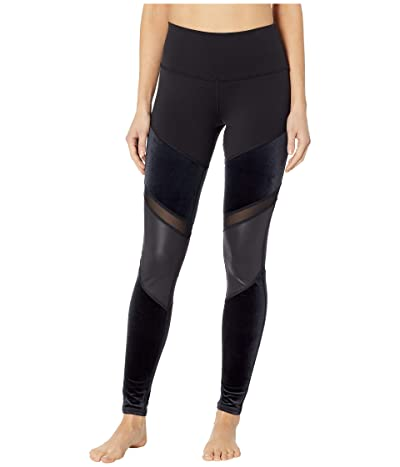 ALO High-Waist Luxe Shelia Leggings (Black) Women