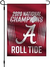 "Fremont Die NCAA Alabama Crimson Tide 2020 College Football National Champions Garden Flag,""12"""" x 16"""""""