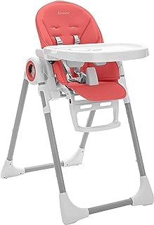Baby Hochstuhl Babystuhl mit Abnehmbarem Essbrett /& Sitzkissen DREAMADE Kinderhochstuhl H/öhenverstellbarer Kombihochstuhl mit 5-Punkt-Sicherheitsgurt f/ür 6 Monate bis 3 Jahre Kinder Hellgrau