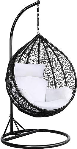 Yaheetech Rattan Swing Egg Chair - Best Garden Swings for Adults