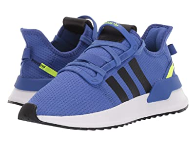 adidas Originals Kids U_Path Run J (Big Kid) (Blue/Black/Hi-Res Yellow) Boys Shoes