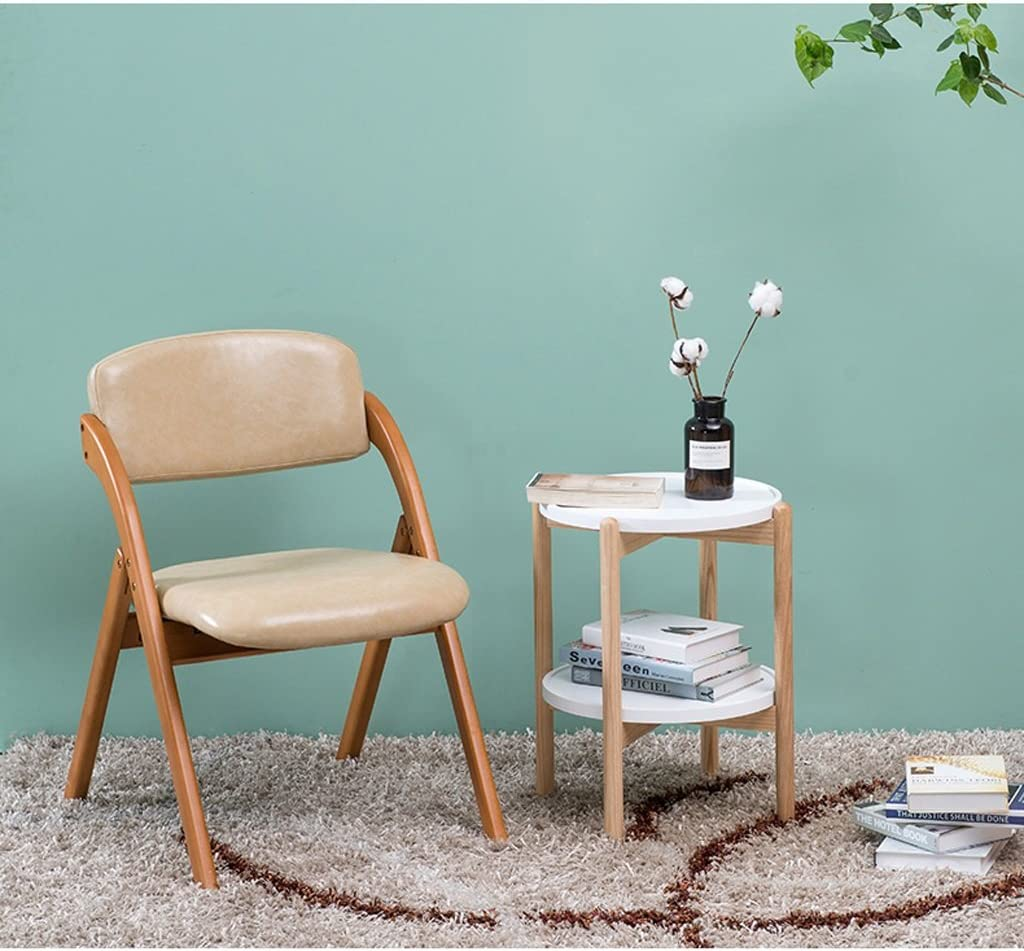 XXT Chaise de salle à manger moderne en bois massif a B