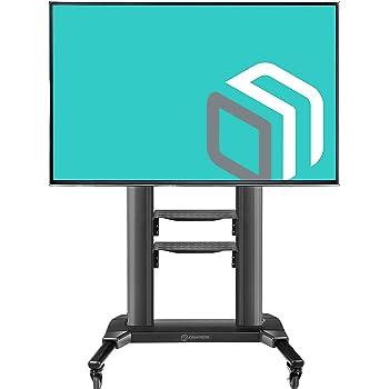 ONKRON Carro TV Soporte Móvil para Pantallas de TV LCD LED OLED de ...