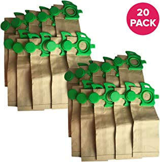 Crucial Vacuum Allergen Bags Replacements Compatible with SEBO Part # 7029ER, Fits SEBO Felix Paper Bags (20 Pack)