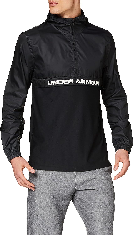 Under Armour Sportstyle Woven 1//2 Zip Haut Homme
