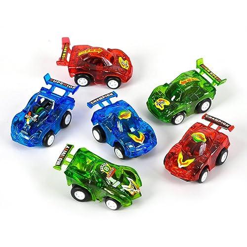 Rhode Island Novelty RN VEPULL3 12 0885949654305 Pull Back Racer Cars Pack