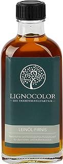 Lignocolor Leinöl-Firnis 100ml Holzöl für den Innen- und Außenbereich