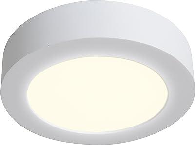 Naeve Leuchten A, Plafonnier LED, aluminium, 12W, 17x 17x 4cm, chaud 1101726
