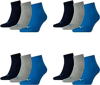 PUMA Uomo Quarters 12er Pack Calzini Sportivi, Uomo, Quarters Sportsocken 12er Pack