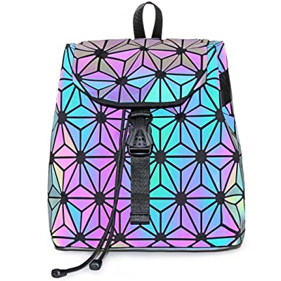 KAISIBO Fashion Geometric Luminous Backpack