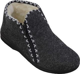 BAWAL Mesdames Pantoufles en Feutre Chaud Boîte Cadeau de souhaits (en Option) Chaussures d'hiver doublées Taille 36 37 38...
