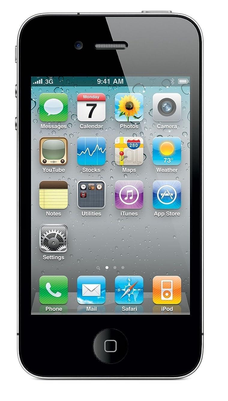 Apple iPhone 4S, Fully Unlocked, 32GB - Black (Refurbished)
