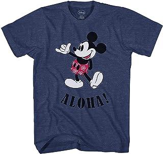 تي شيرت رجالي مطبوع عليه ميكي ماوس من Disney Mickey