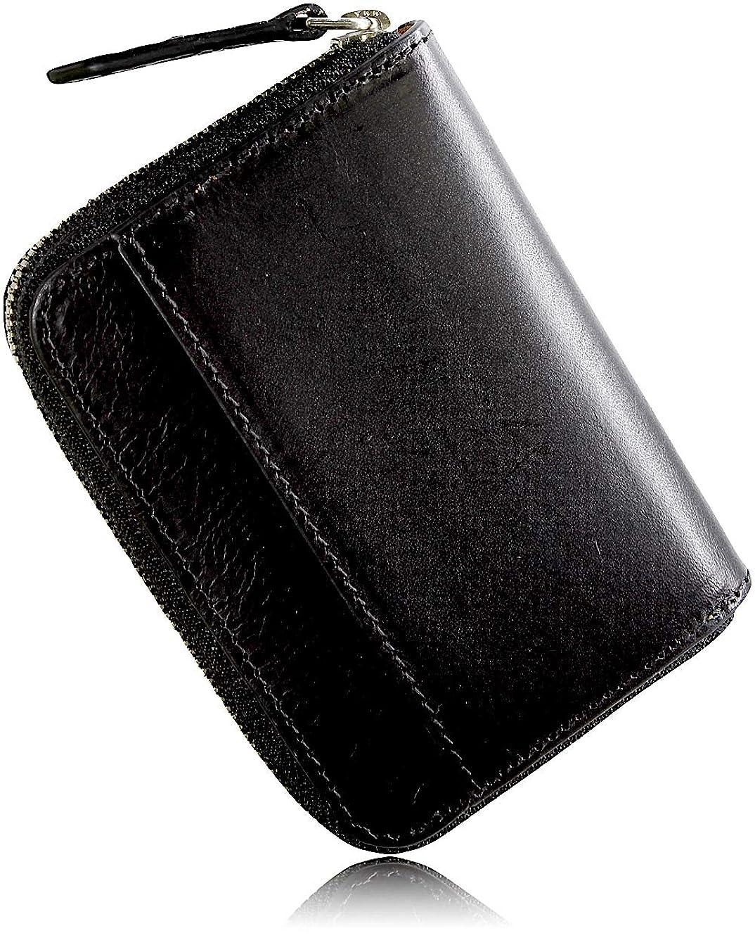 抵当どれでもひねり小銭入れ 革の王様ブッテーロレザー コインケース YKKエクセラ 日本製 メンズ CC01