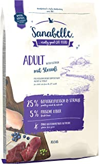 Sanabelle Adult mit Strauß   Katzentrockenfutter für ausgewachsene Katzen (ab dem 12. Monat)