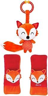 Diono Baby Harness Soft Wraps & Linkie Toy, Fox