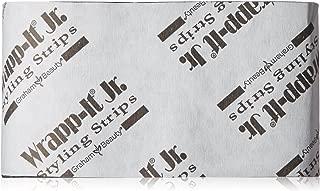Graham Professional Beauty Wrapp-It Jr Styling Strips, Black