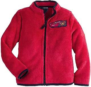 Boys Lightning McQueen Fleece Jacket Red