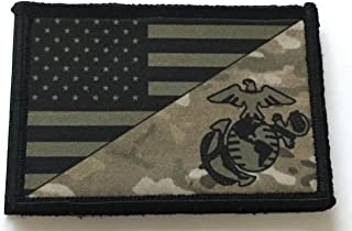 USMC Marine Corps USA Flag (Multicam) Morale Patch 2x3