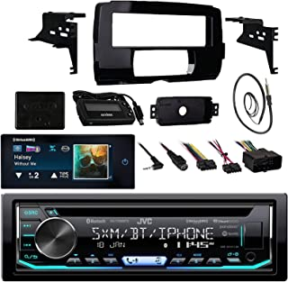 Audio Bundle for 2014 and Up Harley - CD MP3 Marine Bluetooth Receiver Combo with Install Dash Kit, Handle Bar Controller for Motorcycle, SiriusXM Satellite Kit, Enrock 22 AM/FM Antenna