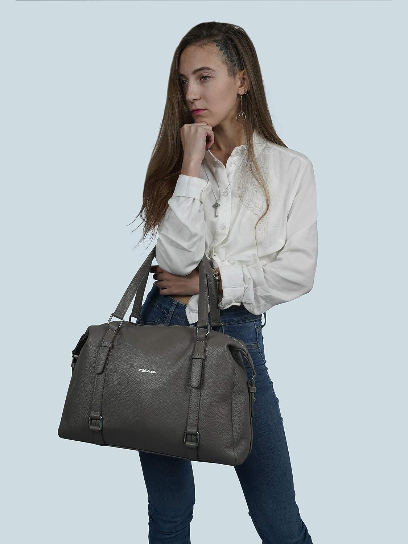 Giorgio Ferretti Excellent Women's Genuine Leather Handbag Soft Genuine Leather Top Handle Handbag