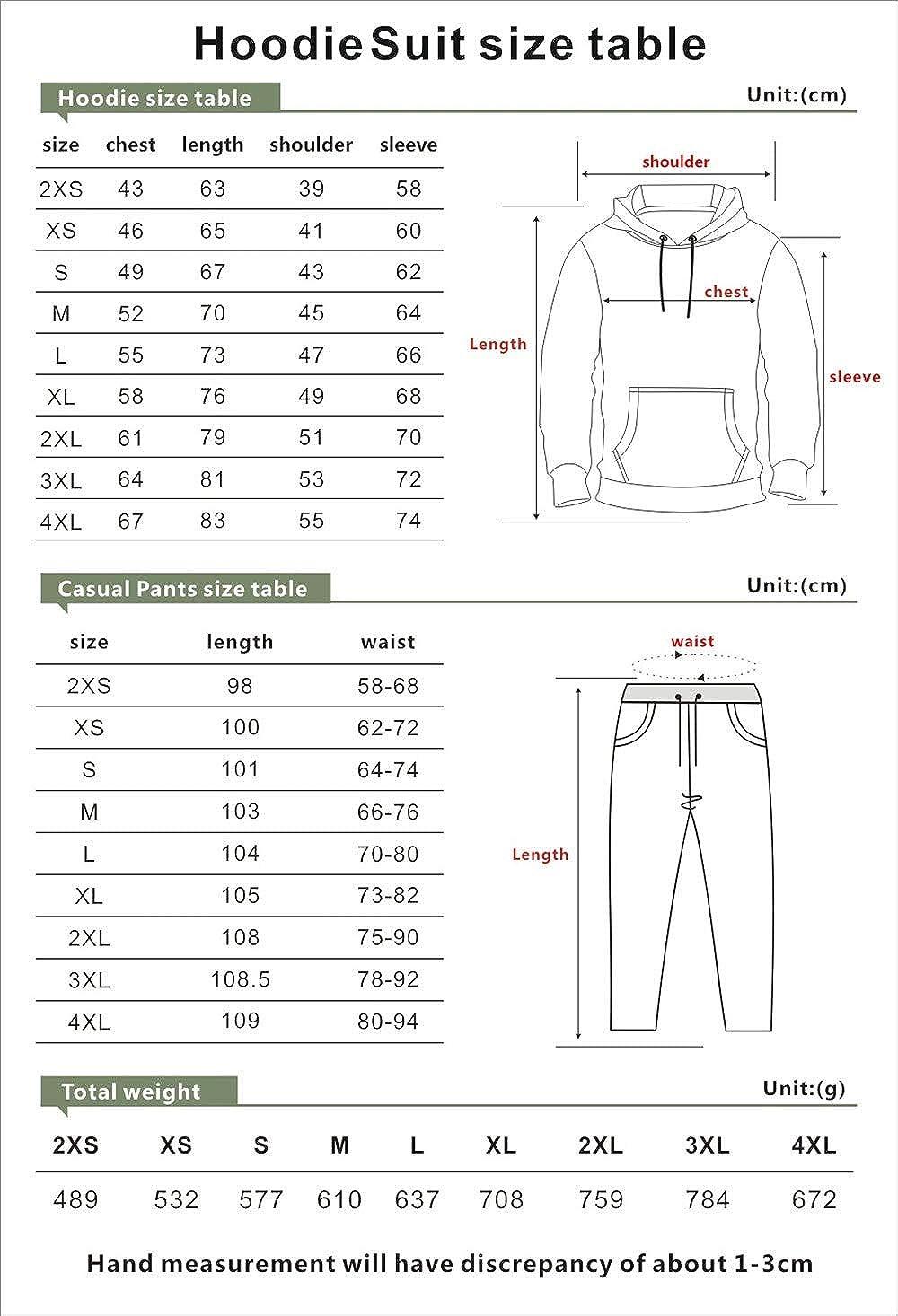 Unizka Strictly Dumpling 2 Pieces Sets Hoodie & Trousers Unisex Kawaii Hip Hop Influencer Suit (Navy,X-Large)