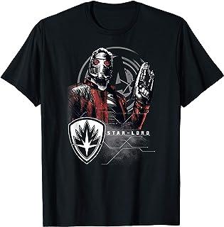 Marvel Infinity War Star-Lord Grunge Pose T-Shirt
