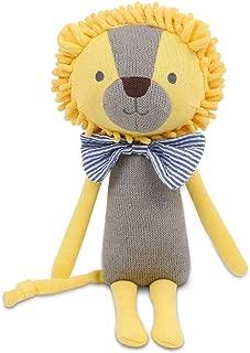Peanut Shell Leon the Lion Knit Plush