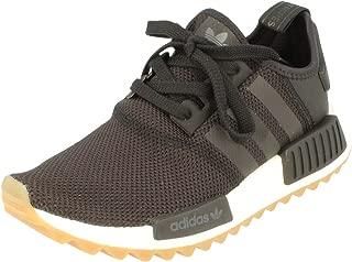 adidas Originals NMD_R1 Trail W Unisex Running Trainers Sneakers (UK 7.5 US 8 EU 41 1/3, Core Black White S81046)