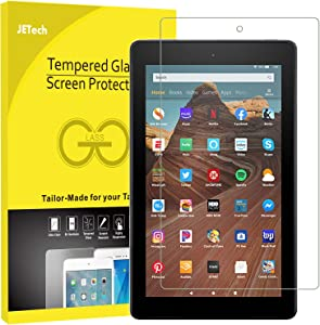 JETech Screen Protector for Amazon Fire HD 10 Tablet 10.1