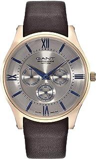 Gant Durham Men'S Grey Dial Leather Band Watch - G Gww001002