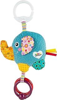 Tomy Lamaze Mini Eloy The Elephant Baby Toy, Clip On Baby Pram Toy & Pushchair Toy, Newborn Sensory Toy for Babies Boys & ...