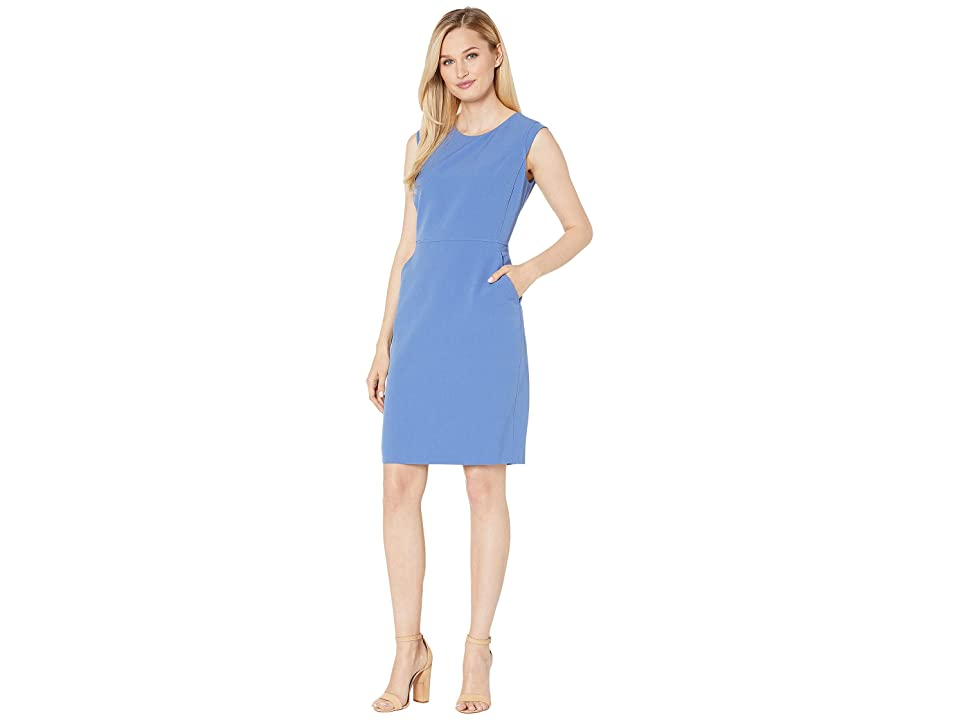 Anne Klein Extended Shoulder Dress (Rainshadow) Women