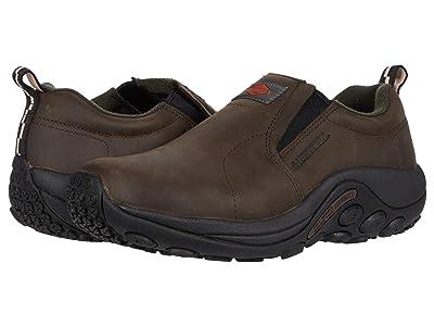 Merrell Work Jungle Moc Leather Slip Resistant Women