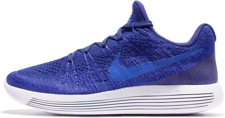 Nike Lunarepic Low Flyknit 2, Farbe 400 Deep Royal Blau Medium Blau;Gre 11.5