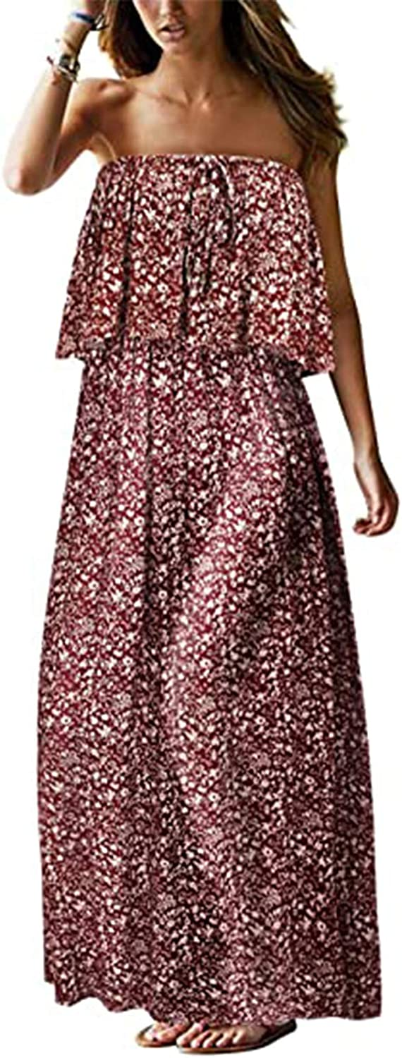 Summer Maxi Dresses for Women Max 68% OFF Strap Sleeveless Casual 2021 Loose Online limited product