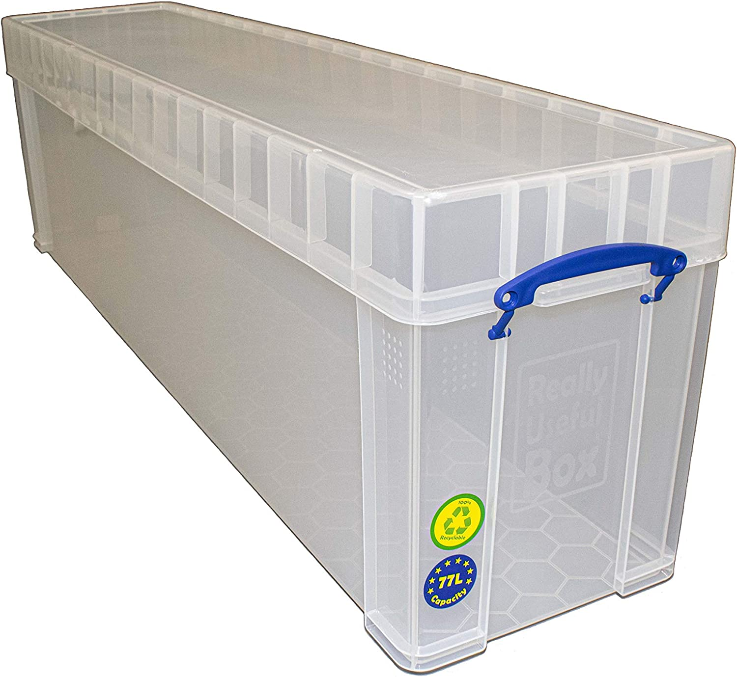 Really Useful High quality new Storage Box Litre Clear Max 52% OFF 77