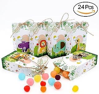 AerWo 24 Cajas de Recuerdos para Baby Shower con Cuerdas