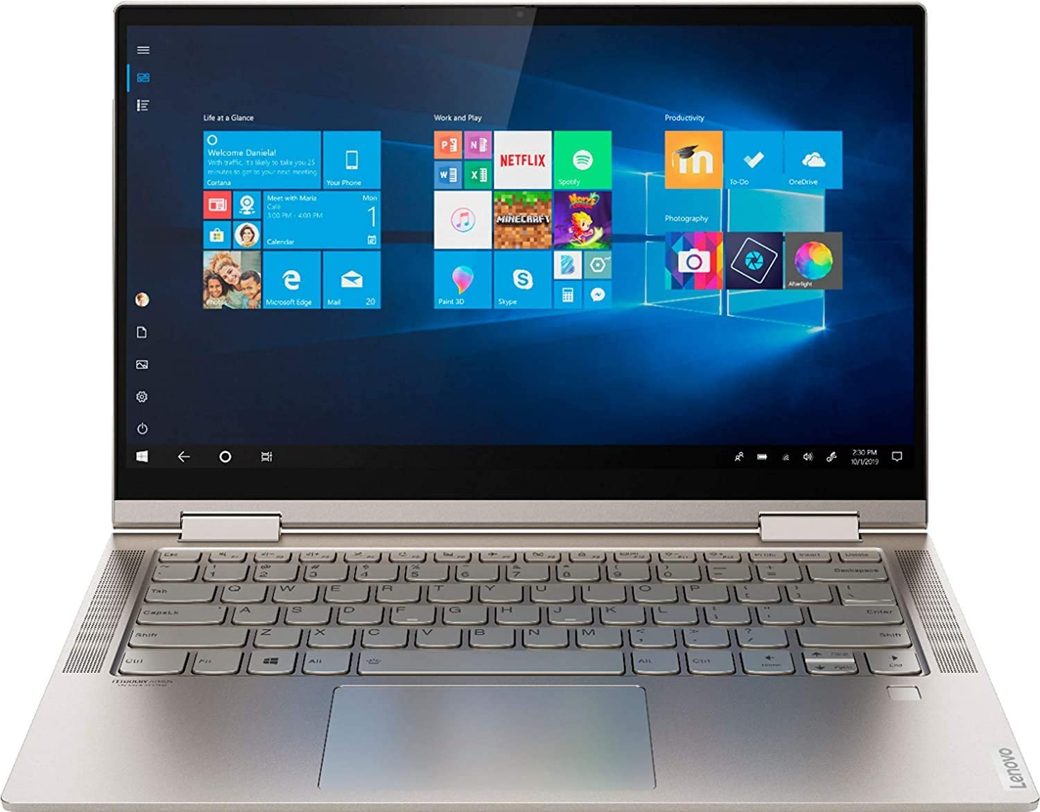 New mail order Lenovo Yoga C740 Quantity limited 2-in-1 Laptop 14