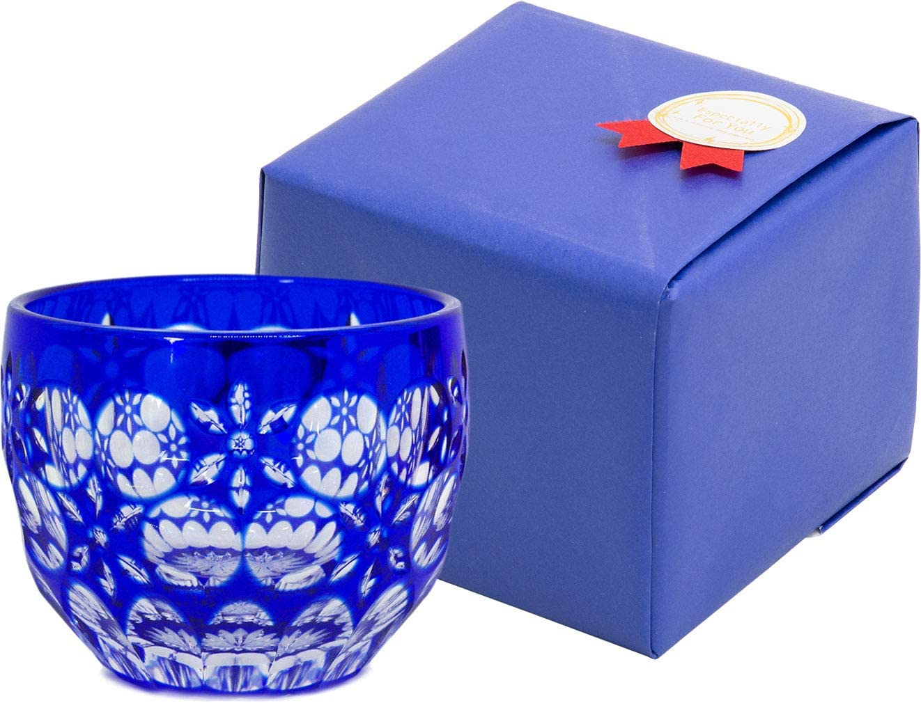 【Gift Wrapped】 Ohba Glass Edo Cut Kiriko Japane Outlet ☆ Limited time trial price Free Shipping