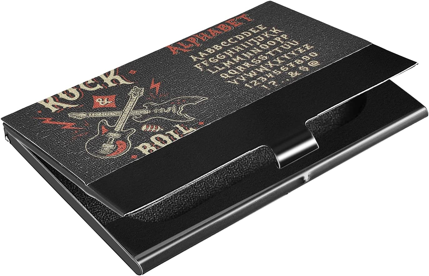 OTVEE Year-end annual account Vintage Old Rock Roll Card Holder Leather Business Challenge the lowest price of Japan ☆ Coat
