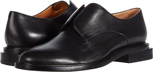 Black Nappa Leather